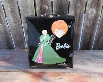 "Vintage 1960's Mattel ""Midge"" Barbie in Case with Accessories"