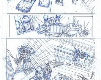 Transformers Original Comic Page 5