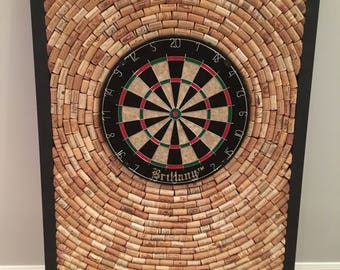 "Wine Cork Dart Board 32"" by 48"" - Game Room/Man Cave dartboard"