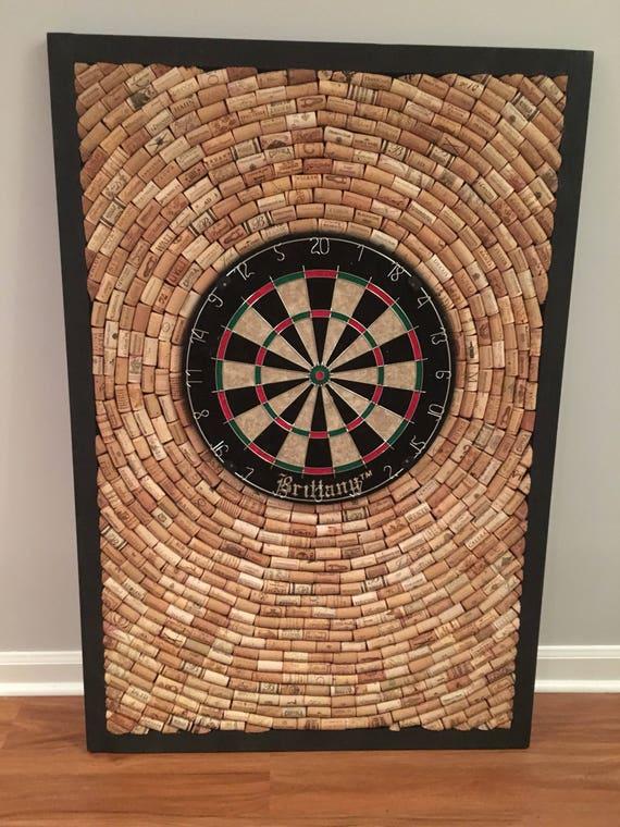 wine cork dart board 32 5 by 48 game room man. Black Bedroom Furniture Sets. Home Design Ideas