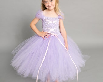 Flower girl dress - tutu dress - tulle dress - Lilac, purple  Tutu Dress - Girls/Youth/Toddler Dress - Pageant dress - Princess dress