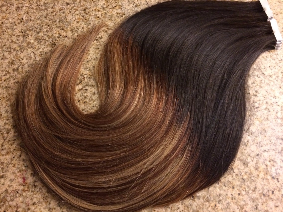 5 Star Ombre Balayage Cuticle Remy Human Hair Keratin Fusion Itip