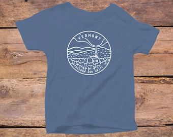 Vermont State Design - Eco Tri-Blend Infant T-Shirt