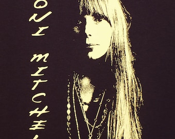 Joni Mitchell t shirt #2 XXL or XXXL You choose size in a message