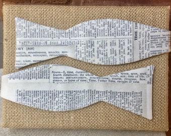 Literary Dictionary Bow Tie