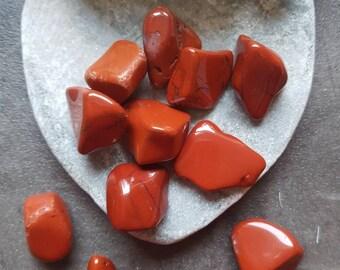 Red Jasper - Red Jasper Crystal - Red Jasper Stone - Red Jasper Gemstone - Jasper Gemstone - Red Jasper Tumbled Stones