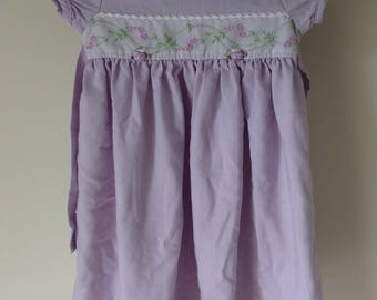 Toddler Rare Editions Lavender Dress