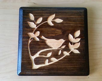 The Morning Bird Wall Plaque