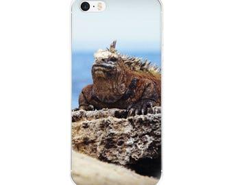 Iguana Lover | Wildlife Photography | iPhone Case | Travel Photography | Galapagos Islands Ecuador