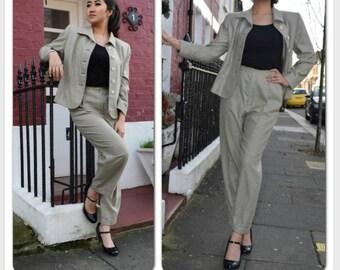 YvesSaintLaurent Vintage Suit 80s
