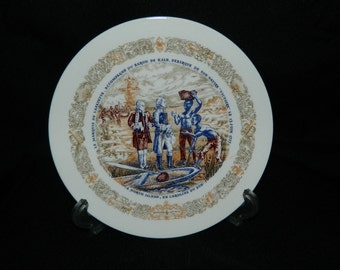 D'Arceau-Limoges Plate - North Island Landing - CLEARANCE SALE