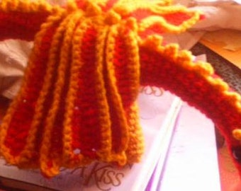 Fire Dragon Crocheted