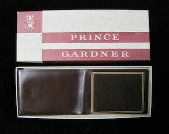 Leather WALLET, Prince Gardner, Vintage