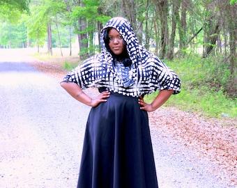 """Plus size High Waist/  Plus Size Maxi Wrap Skirt ( 2 - 26 ) 41 -  42"""" L - 5 colors"""