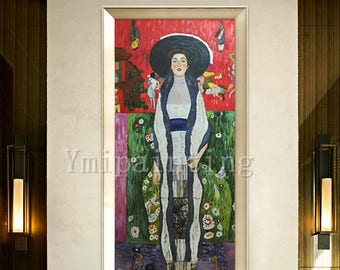 Portrait painting Gustav Klimt Art Reproduction oil Painting for living room Home Decor Wall Pictures  Wall art  in Museum Quality