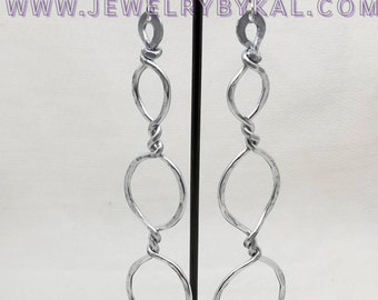 The Helix - Light Weight Aluminum Earrings