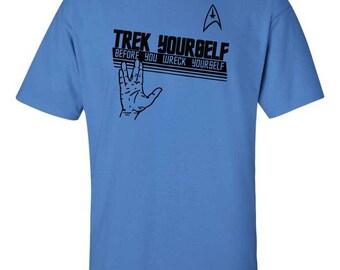 Star Trek - Trek Yourself Before You Wrek Yourself - Shirt