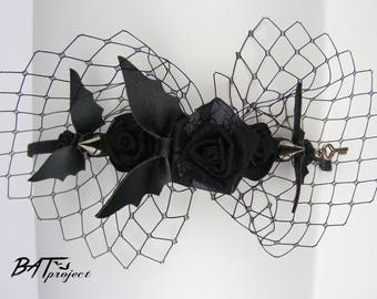Headband Bats Roses Spikes BAT PROJECT