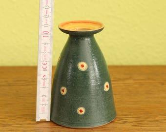 Ceramic vase or candle holder-minimalism-convertible-large