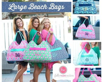 Monogrammed Beach bag , personalized beach bag , beach tote , vacation beach bag , navy beach Bag, embroidered beach bag , bridesmaid gifts