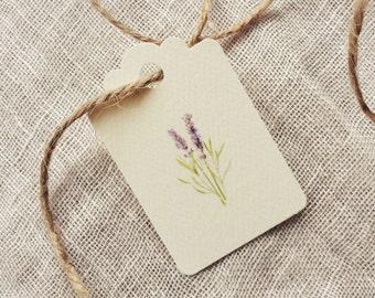 Favor Tag Gift Tag Lavender Wedding