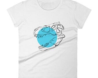 Dinosaur Skull - Ladies T-shirt