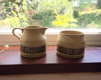 Kiln Craft Milk Jug & Sugar Bowl