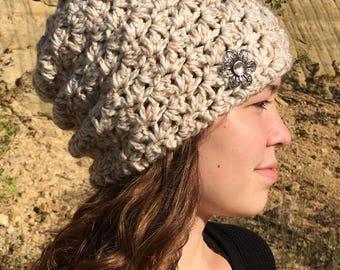 Crochet Pattern Slouch Hat/ Easy Slouch Hat Crochet Pattern/ Pattern Easy Slouchy Hat/ Easy Slouch Hat Crochet/ Easy Slouchy Hat Pattern