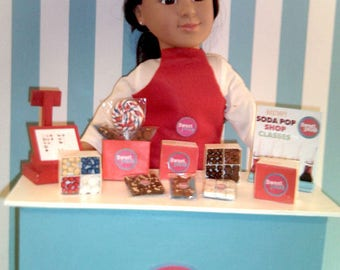 American Girl Sized Sweet Petes Candy Shop Playset