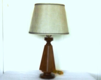 Lamp - Black Walnut