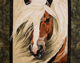 Toni Whitney Design Mistral Horse Applique Quilt Pattern