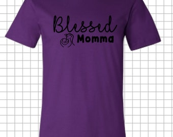 Blessed Momma Tee
