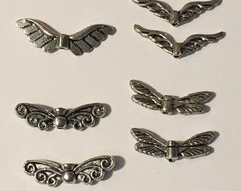 Veel 7 engel vleugel kralen