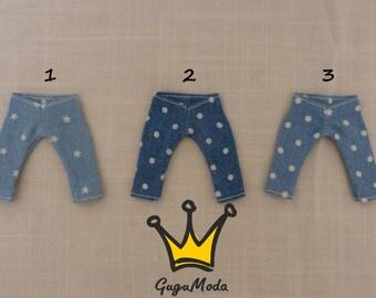 Pukifee/lati yellow pattern jeans