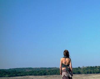 Desert Hippie Skirt eco psytrance psychedelic