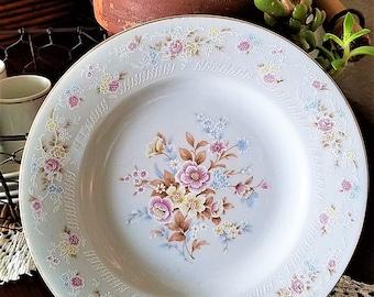 Floral Bouquet Porcelain Salad Plate