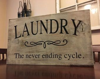 Laundry-the never ending cycle