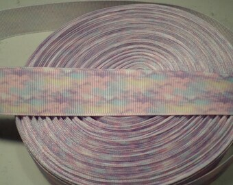 Galaxy grosgrain ribbon, galaxy ribbon, Pastel galaxy, grosgrain ribbon