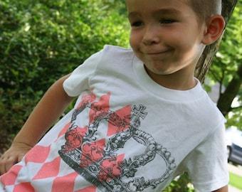 Royal Harlequin Toddler Shirt