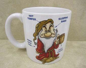 """Disney """"Wake-Up Grumpy"""" Large size mug"""