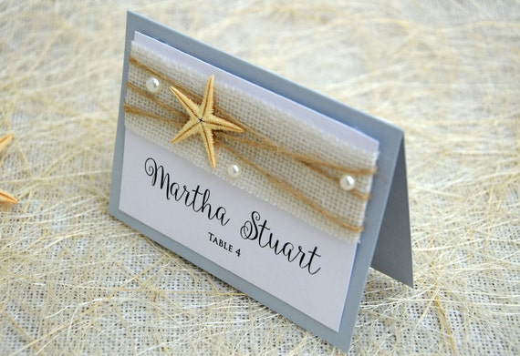 Beach Place Cards Name Place Cards Place Card Names Beach