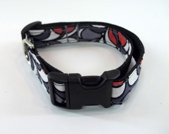 Mod Dog Collar Paisley Size XS, S, M or L
