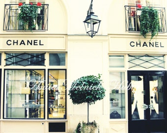 Chanel Art- Paris Print- Boutique- Fashion Photography - Parisian -Boudoir- Chic- French-Travel Theme-Classic-Preppy-French Nursery, Bedroom