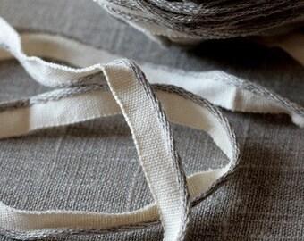 Linen/cotton piping cord/trim -- lip cord