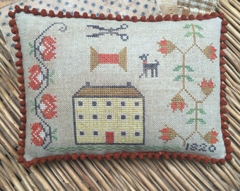 The House that Stitching Built Pinkeep *PATTERN*