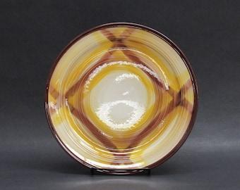 Vintage Vernon Kilns 'Organdie' Plaid Dinner Plates, Set of 6 (E10129)