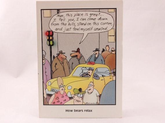 Vintage 1987 gary larson far side greeting card and envelope bookmarktalkfo Choice Image