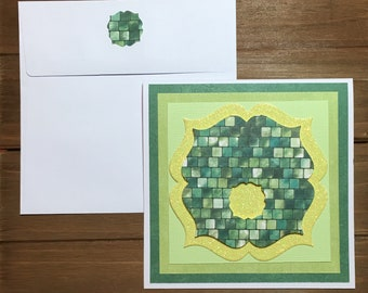 Handmade  St Patrick's Day card