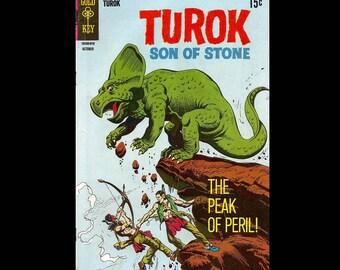 Turok Son of Stone No. 63 - Gold Key Comic Book c. October 1968