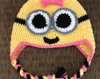 Minion Hat for Girl